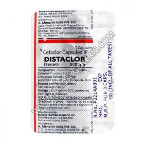 distaclor 500 (Cefaclor)
