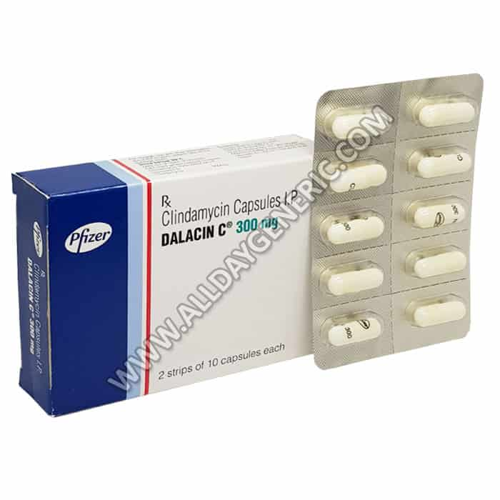 Dalacin C 300 mg (clindamycin) clindamycin 300 mg
