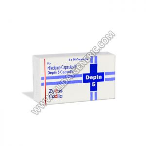 Depin 5 mg (Nifedipine 5mg Capsules)