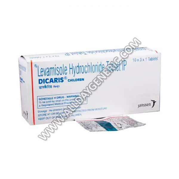 Dicaris Children 50 mg Tablet