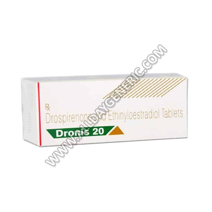 Dronis-20 (Ethinyl Estradiol Drospirenone)