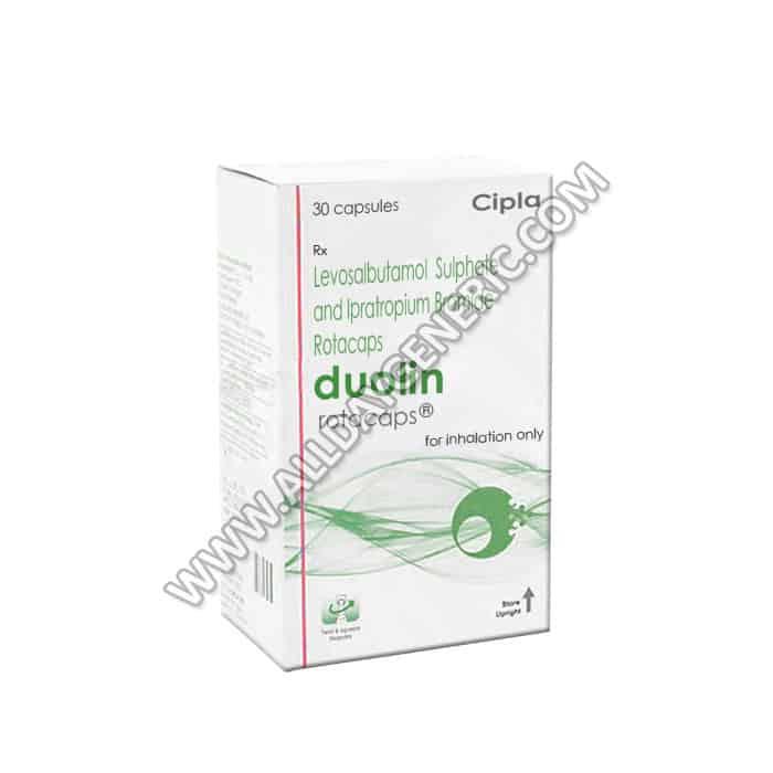 Duolin Rotacaps, Levosalbutamol 100mcg + Ipratropium 40mcg, Ipratropium medication