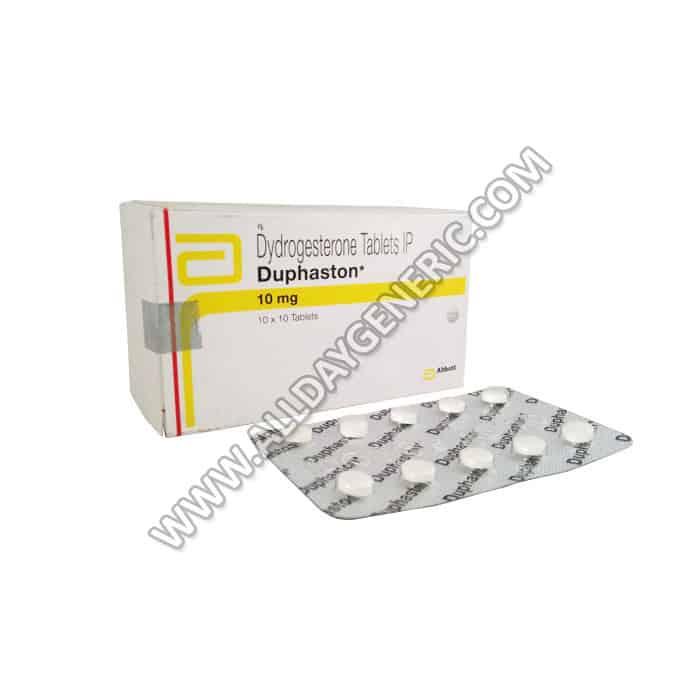 dydrogesterone, Duphaston 10 mg