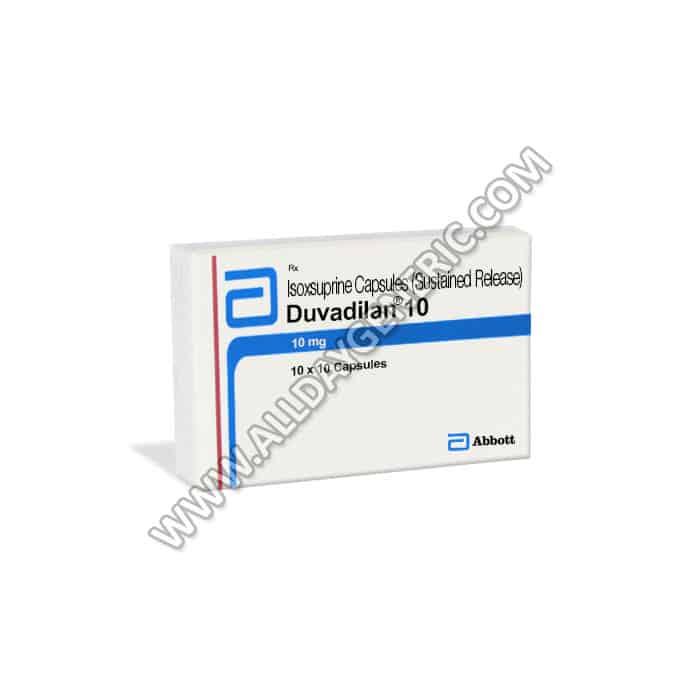 Duvadilan 10 mg, Isoxsuprine