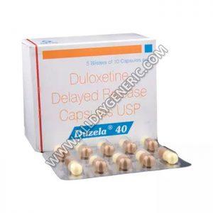 duloxetine 40, Duloxetine, Duzela