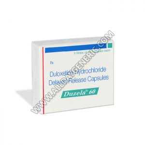 Duloxetine Generic, Duzela 60 mg