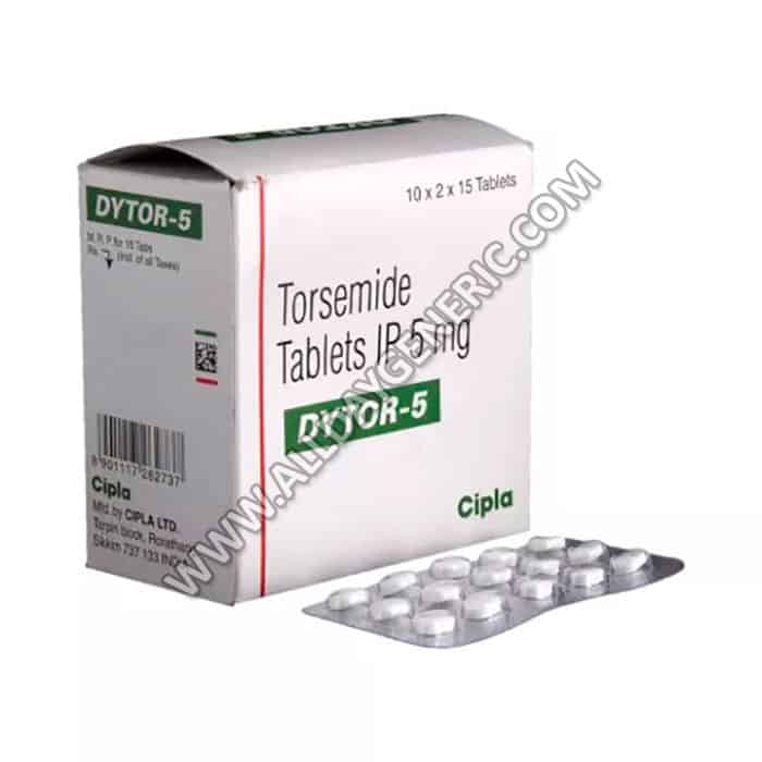 Dytor 5 mg (Torasemide 5 mg) Tablet