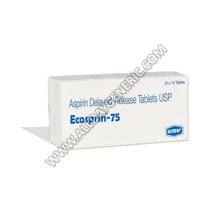 Ecosprin 75 | Ecosprin 75 mg (Aspirin)