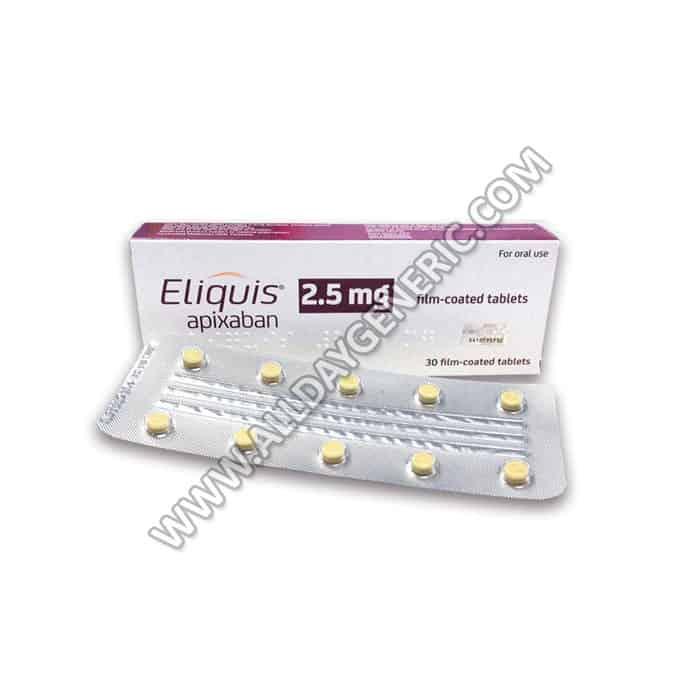 Eliquis 2.5 mg