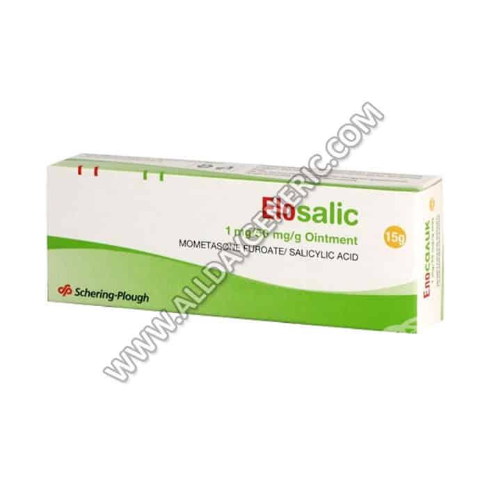 elosalic ointment (Mometasone / Salicylic Acid)