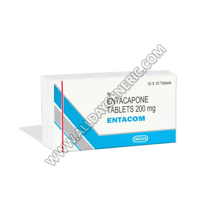 Entacom 200 mg Table, Entacapone
