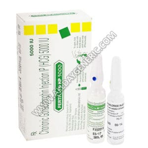 Fertigyn, Fertigyn 5000 IU Injection, HCG, Human Chorionic Gonadotropin