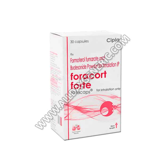 Foracort Forte Rotacaps (Budesonide, Formoterol)