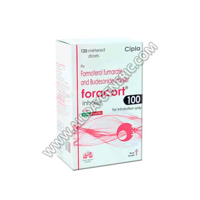 Foracort Inhaler 100 (Budesonide, Formoterol)