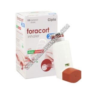 Formoterol inhaler | Foracort Inhaler 200 (Budesonide, Formoterol)