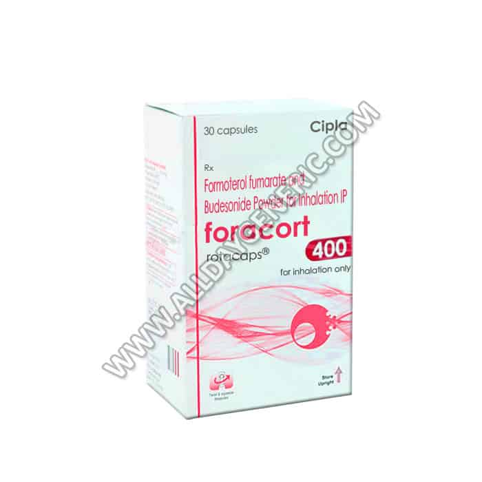 Foracort Rotacaps 400 (Budesonide, Formoterol)