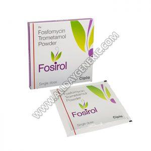 Fosirol 3gm Powder, Fosirol, Fosfomycin