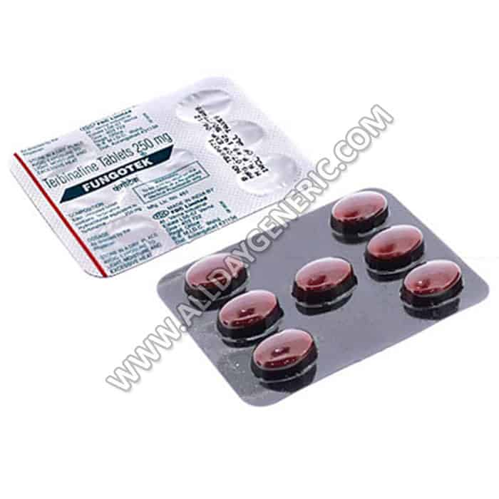 Fungotek 250 mg (Terbinafine 250mg)