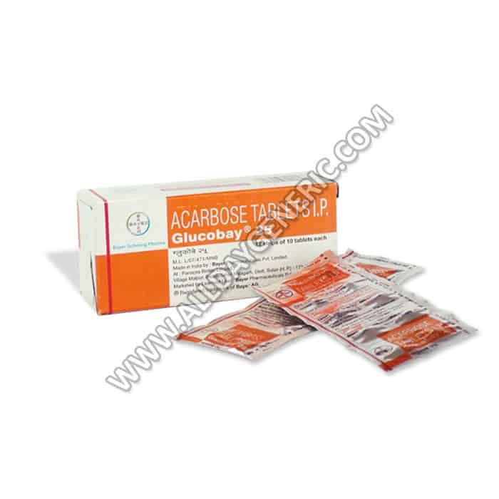 Glucobay 25 mg (Acarbose)