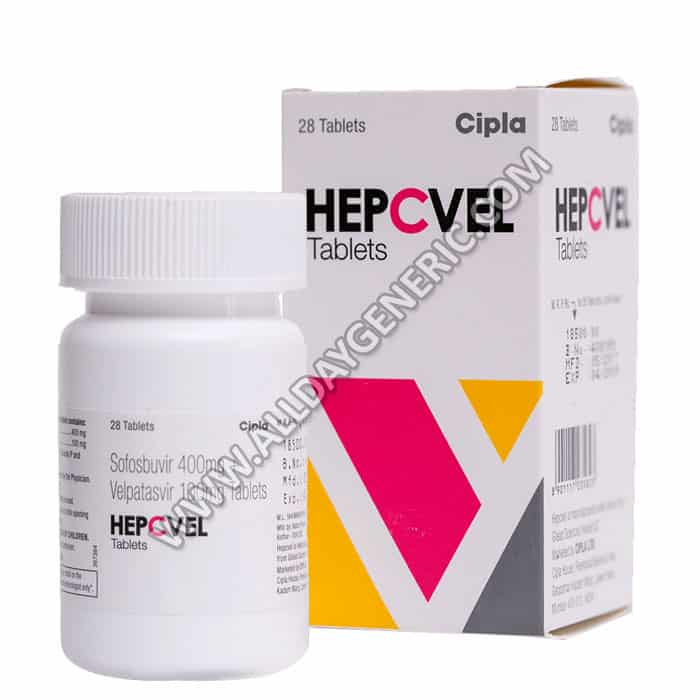 Hepcvel Tablet (Sofosbuvir and Velpatasvir)