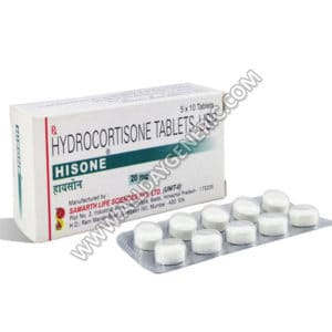 Hisone 20 mg (Hydrocortisone)