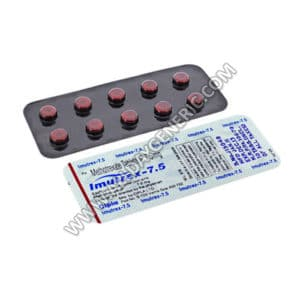 Imutrex 7.5 mg, methotrexate