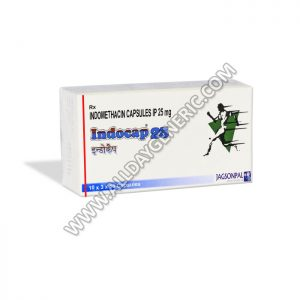 Indomethacin 25mg (Indocap 25 mg)