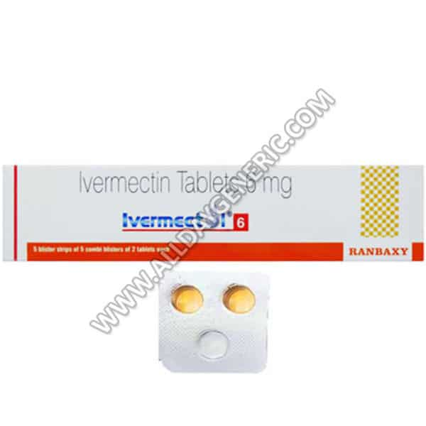Ivermectol 6 mg Tablet