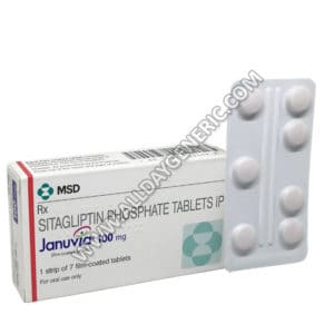 januvia 100 mg (Sitagliptin)