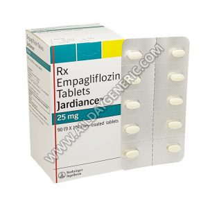 Jardiance 25 mg Tablet, empagliflozin 25 mg