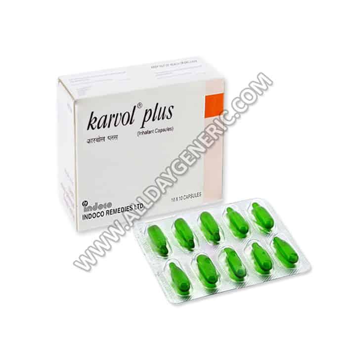 Karvol Plus | Karvol Plus Capsule (Menthol, Terpinol, Eucalyptol)