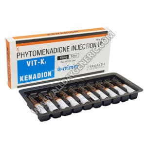 Kenadion Injection 10mg (Phytomenadione)