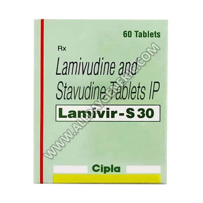 Lamivudine / Stavudine (Lamivir S 40 Tablets)