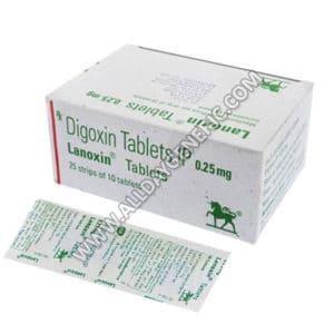 Digoxin | Lanoxin 0.25 mg (Digoxin)