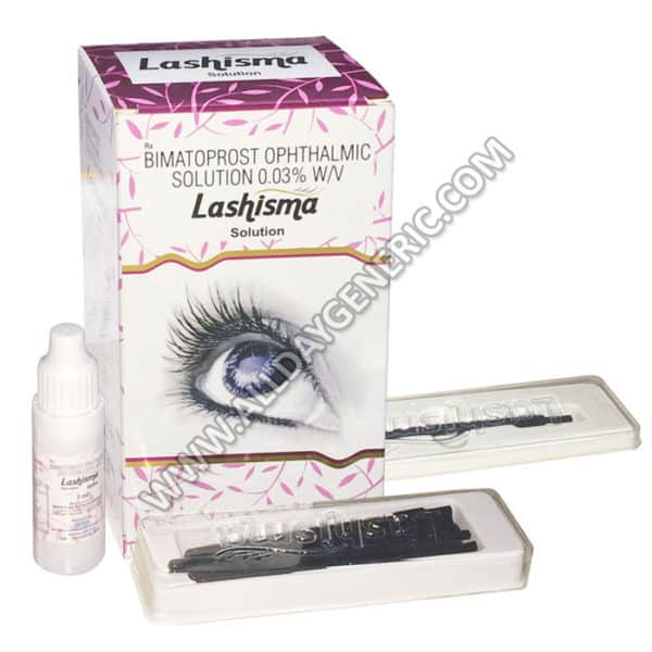 Lashisma Eye Solution