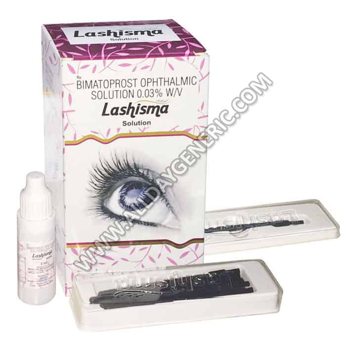 Lashisma Eye Solution (Bimatoprost)