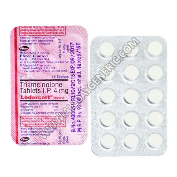 Ledercort 4 mg