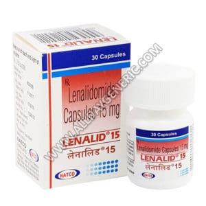 Lenalid 15 mg Capsule, lenalidomide 10 mg