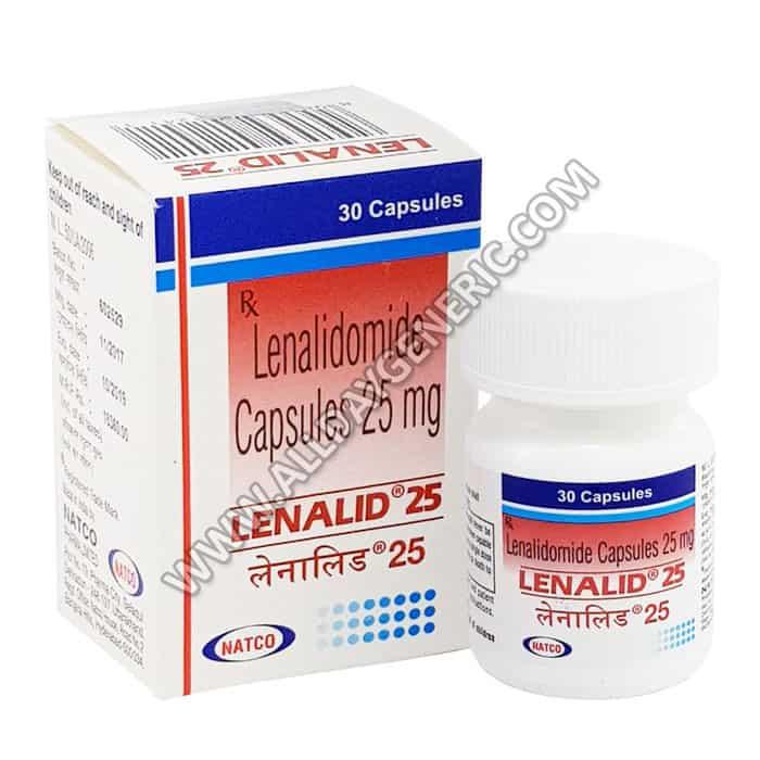 lenalidomide,lenalidomide cost, Lenalid 25 mg, lenalidomide side effects