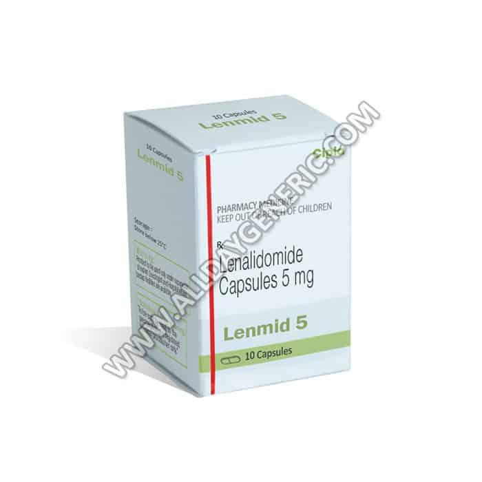 Lenmid 5 mg (lenalidomide generic)
