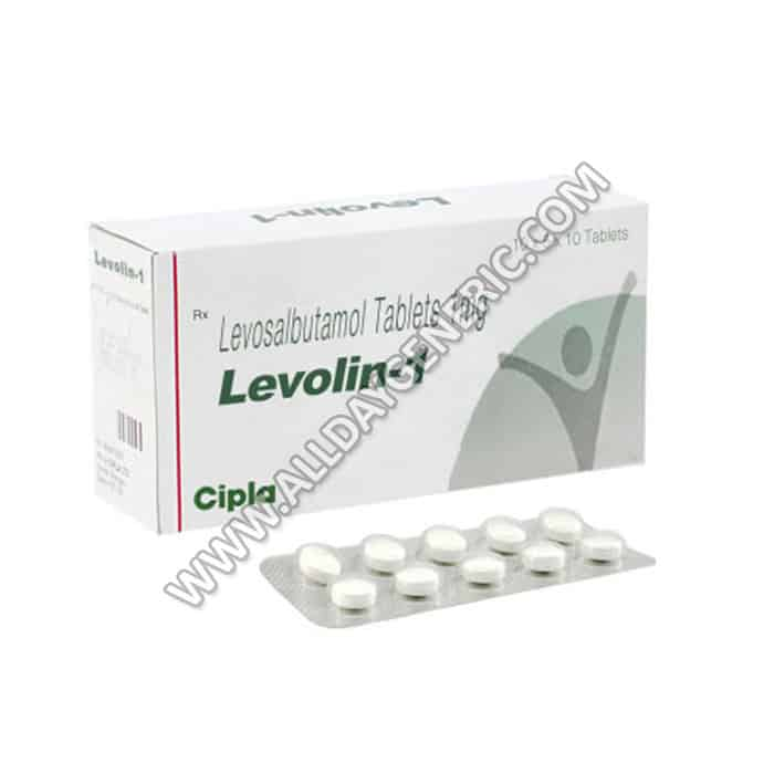 Levolin 1mg | Levolin 1 mg Tablet (Levosalbutamol)