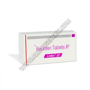 Liofen 25 (baclofen 10 mg tablet)
