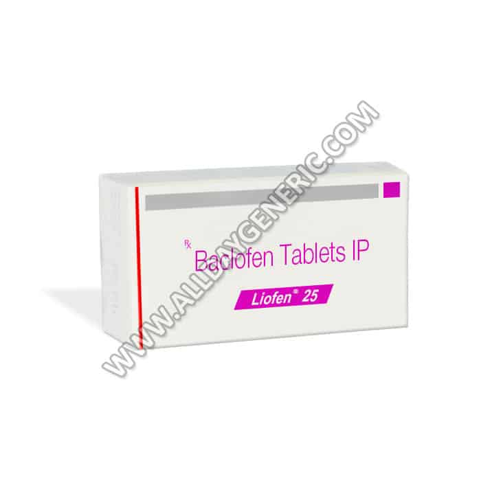 Liofen 25 (baclofen 10 mg tablet)
