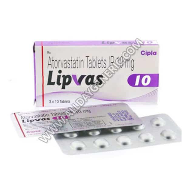 Lipvas 10 mg