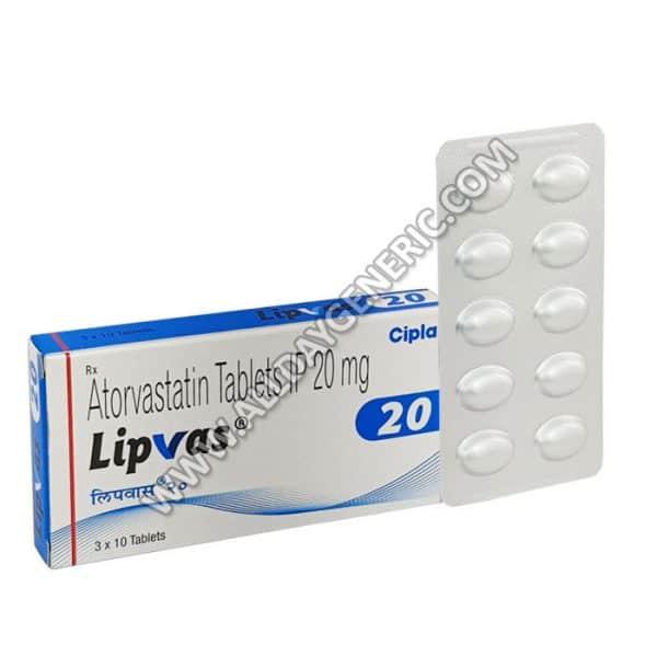 Lipvas-20-mg