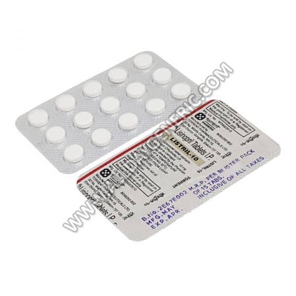 Listril 10 mg