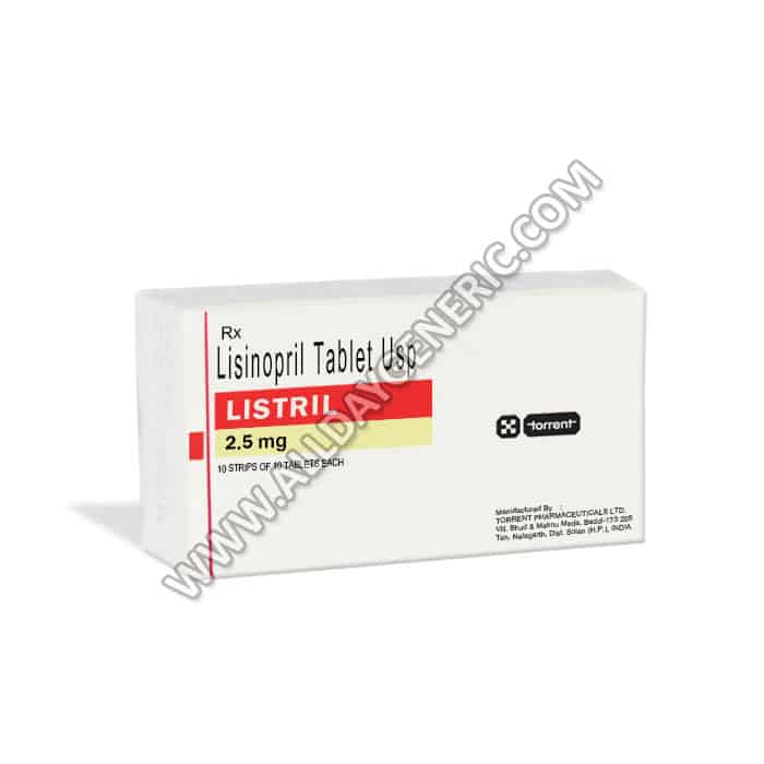 Listril | Listril 2.5 mg (Lisinopril)