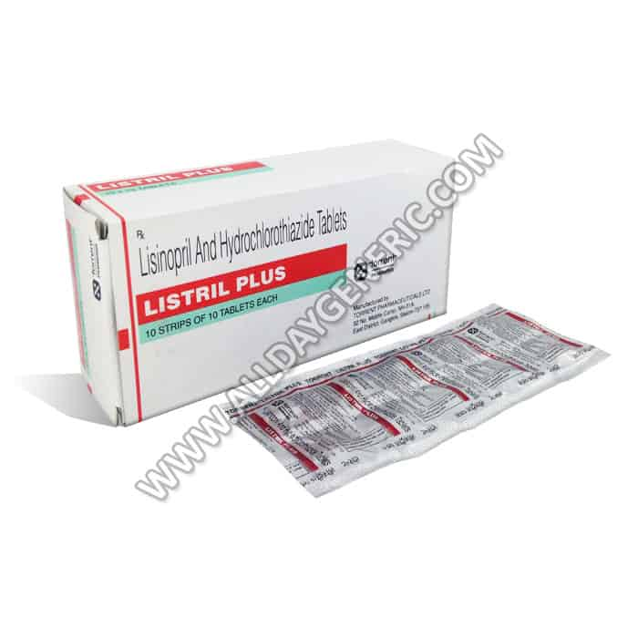 Hydrochlorothiazide | Listril Plus (Lisinopril / Hydrochlorothiazide)