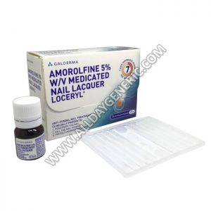 Loceryl Nail Lacquer (Amorolfine)