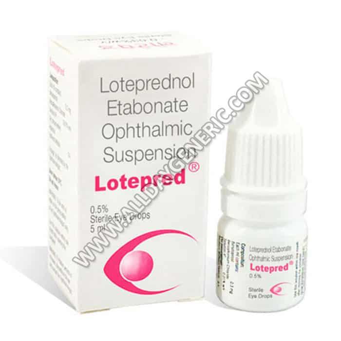 Loteprednol (Lotepred Eye Drops)